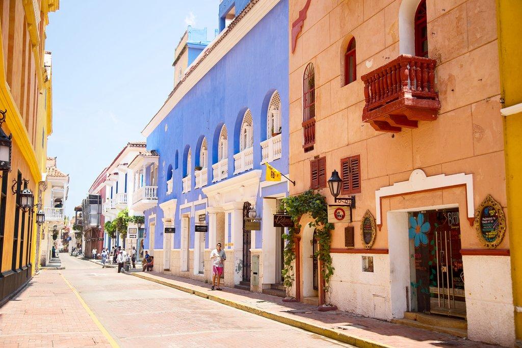 Aerial View of Cartagena