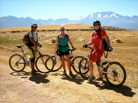 Cycle through incredible scenery from one Inca ruin to another: one of the world's best days in the outdoors!