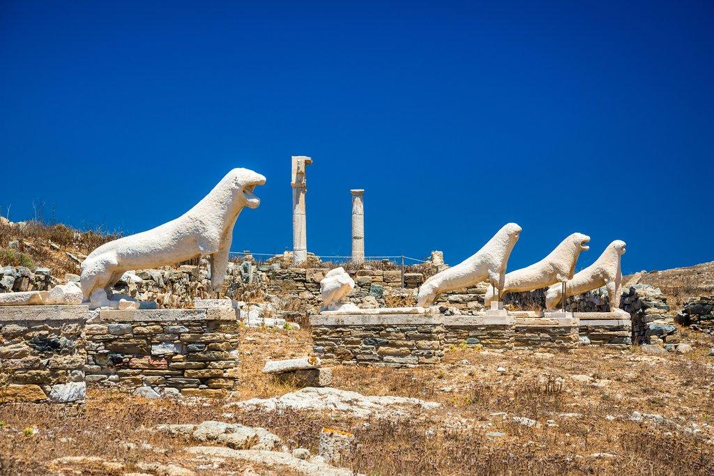 Terrace of Lions on Delos