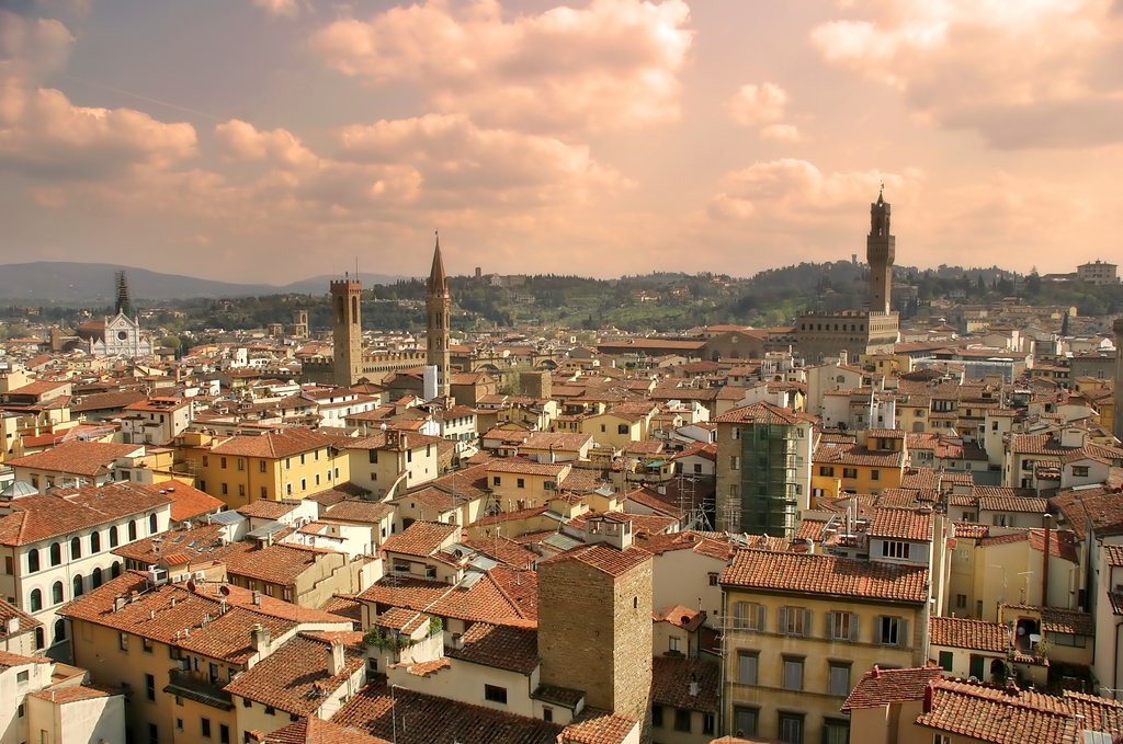 Ancient City of Florence, Italy
