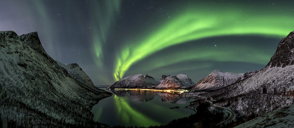 Catch glimpses of the Northern Lights when the skies are clear