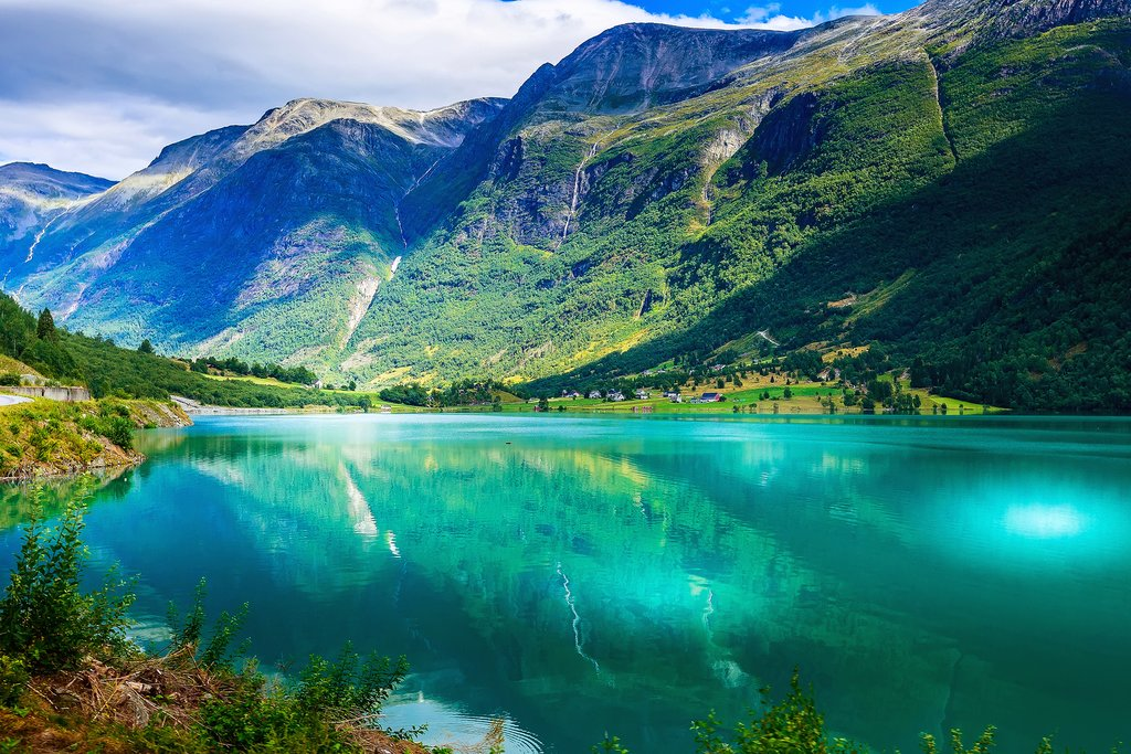 Glorious views of the Nordfjord