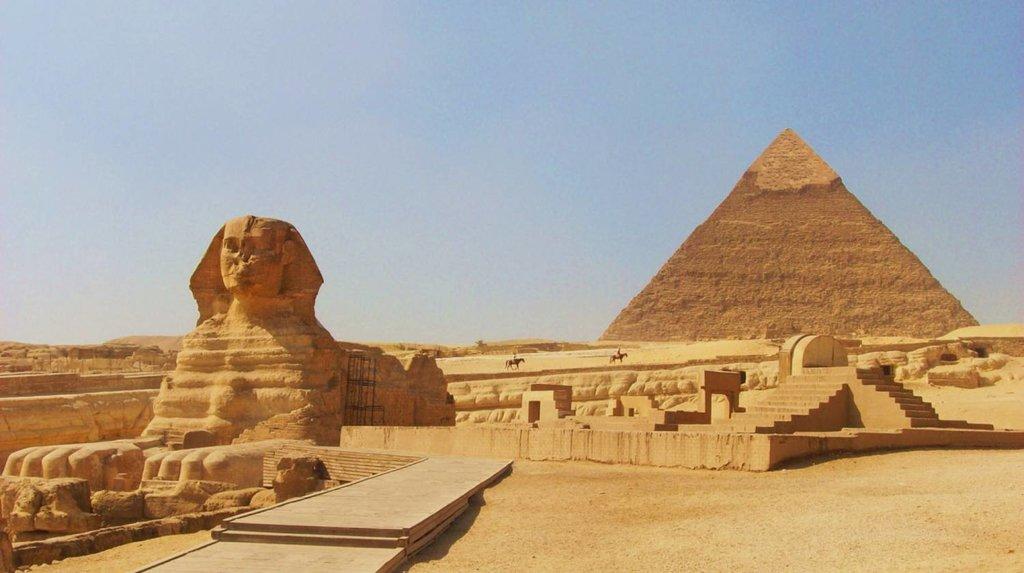 Pyramids & Sphinx