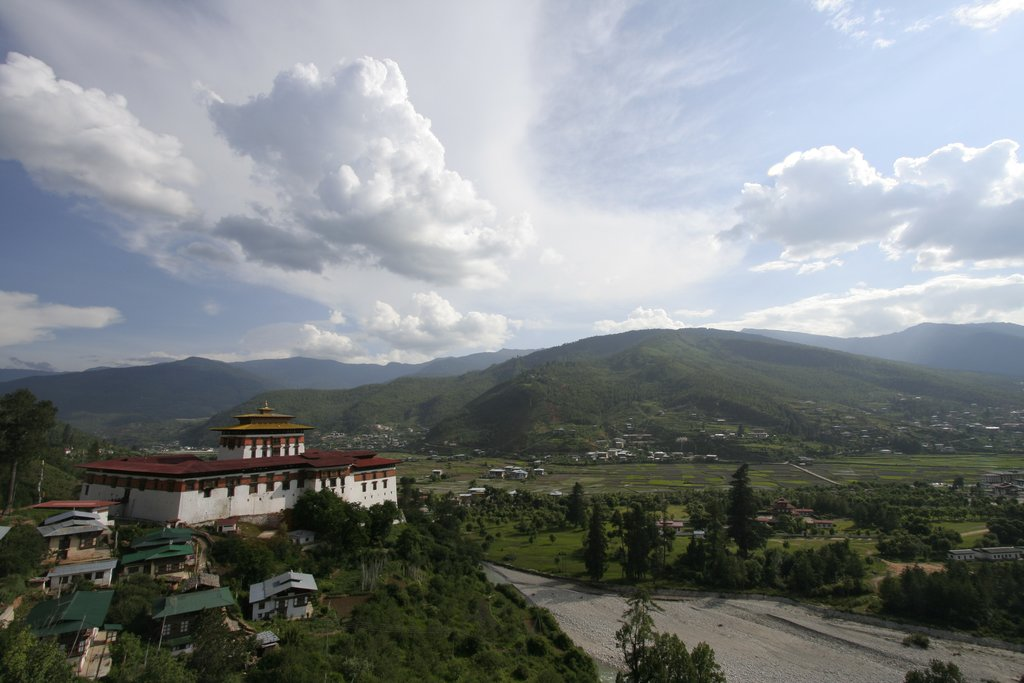 Rinpung Dzong in Paro valley