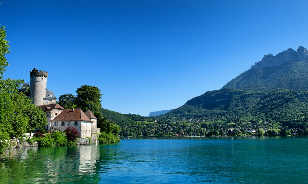 Lake Annecy in the French Alps