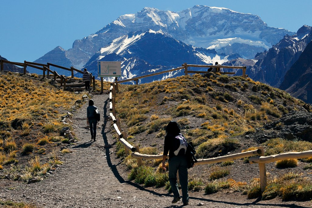 Putting the wine aside: Hiking up Aconcagua in Mendoza province