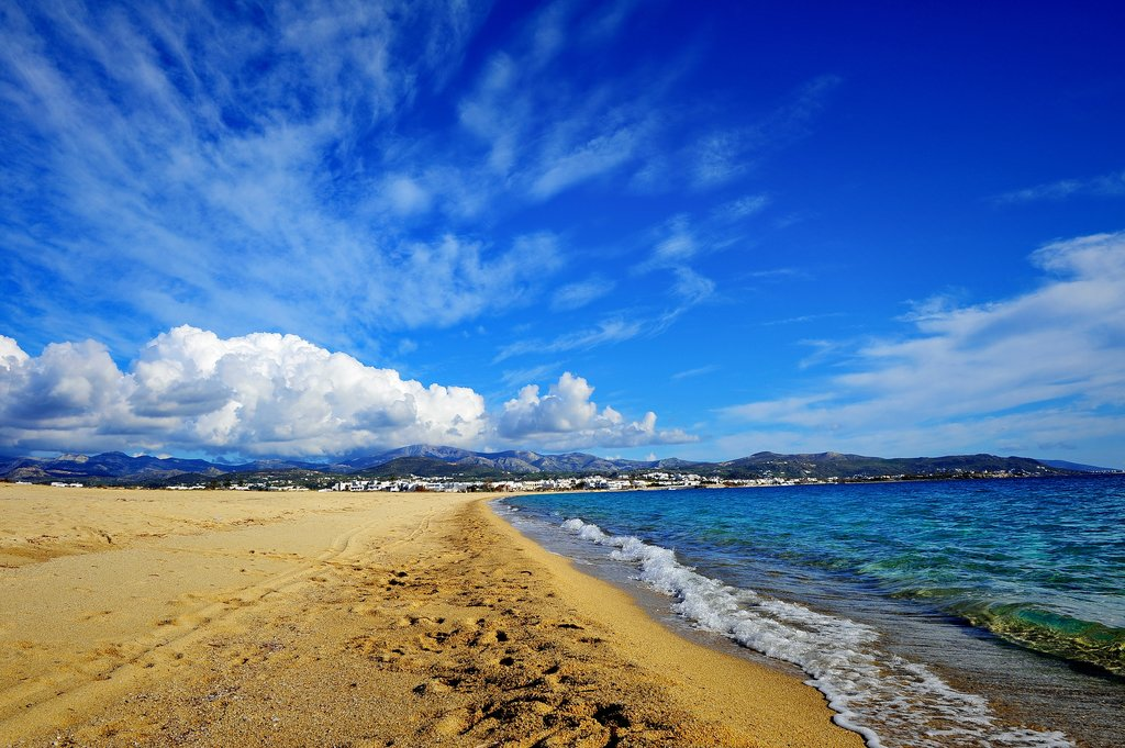 Go horseback riding on the beaches of Naxos