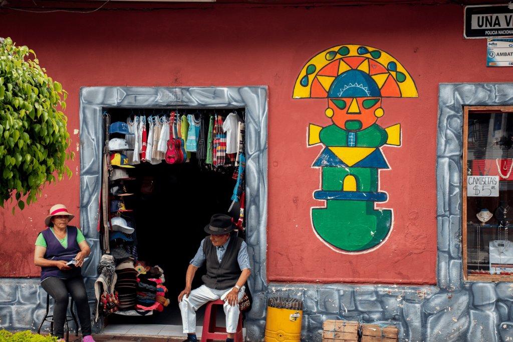 Local Quito store