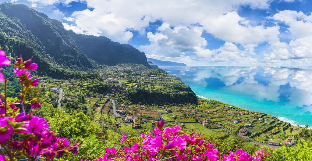 Madeira Island's northern coast