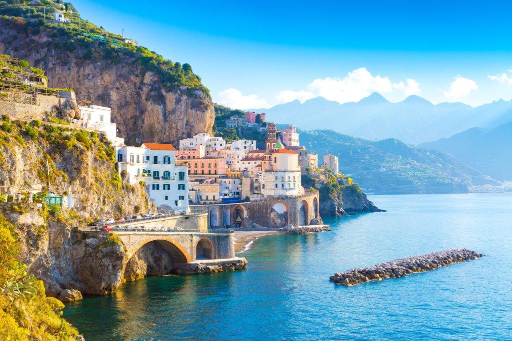 Cliffside Buildings in Amalfi