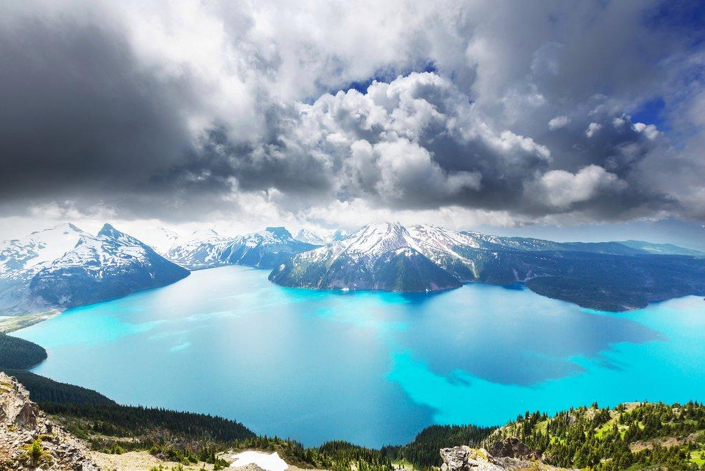 Views from the Garibaldi Lake hike near Whistler