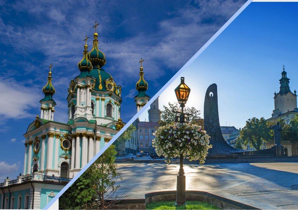 Explore Ukraine, from Kyiv to Lviv