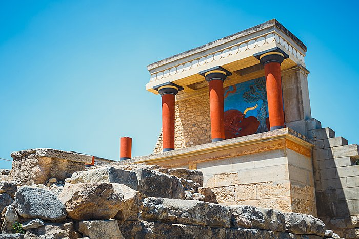 The Minoan Palace of Knossos, Crete
