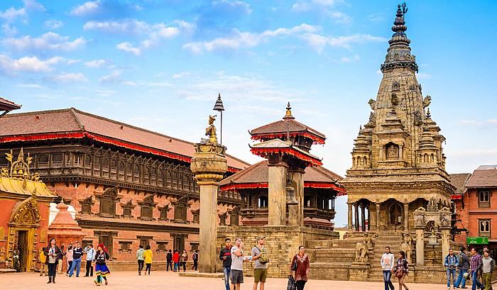 Beautiful Bhaktapur Durbar Square