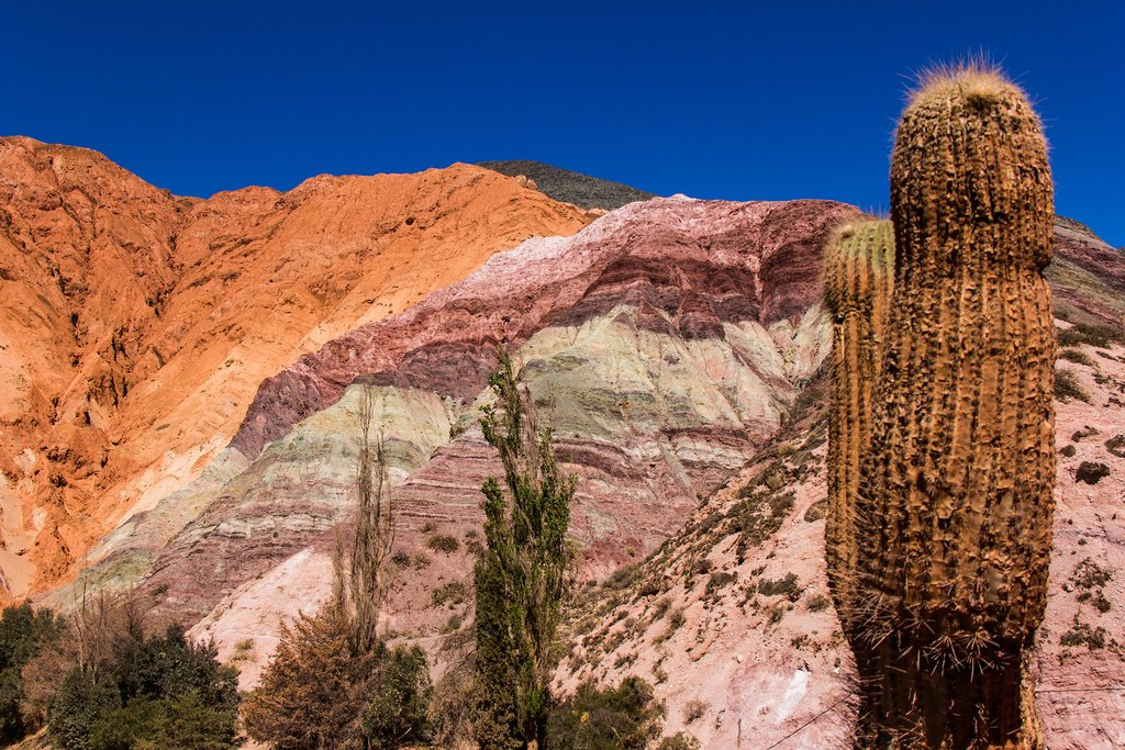 Argentina's painted hills