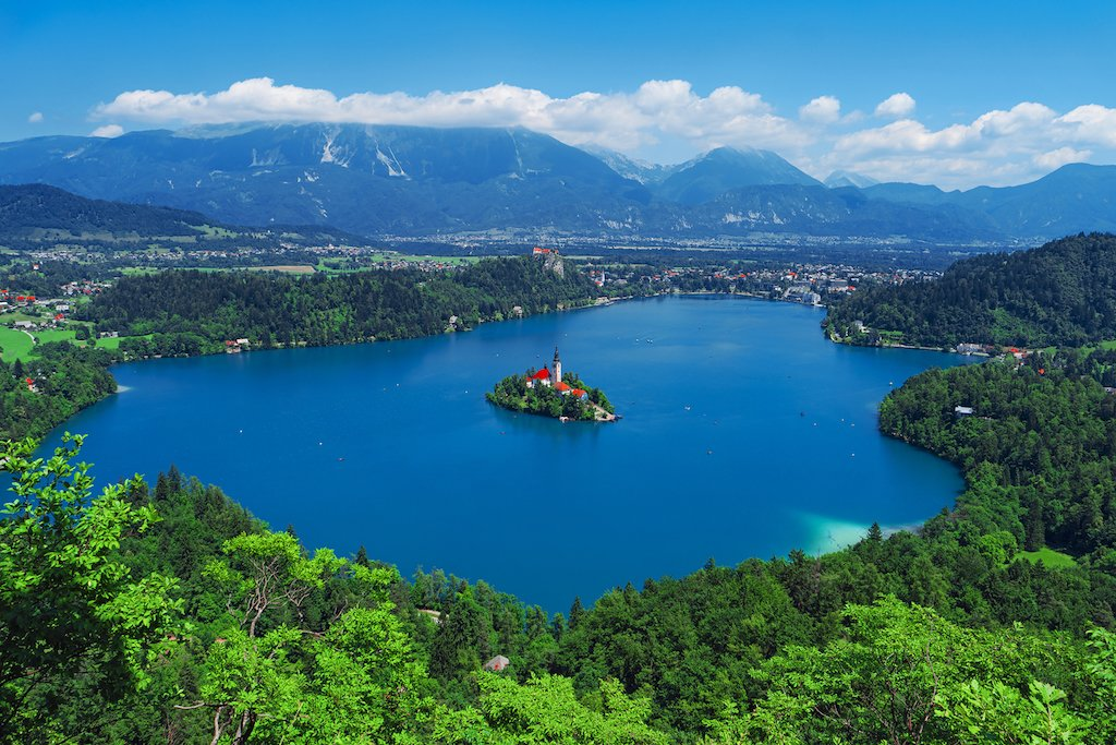 Overlooking Lake Bled. Photo courtesy of Bigstock
