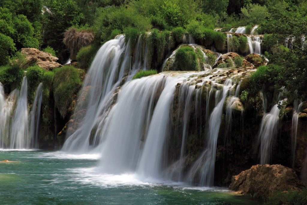 Waterfalls at Krka National Park