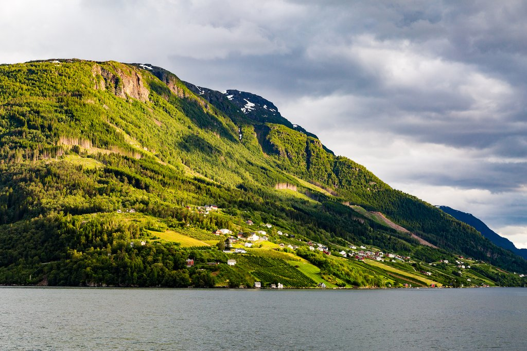 Get plenty of fjord-side scenery in the Hardanger region
