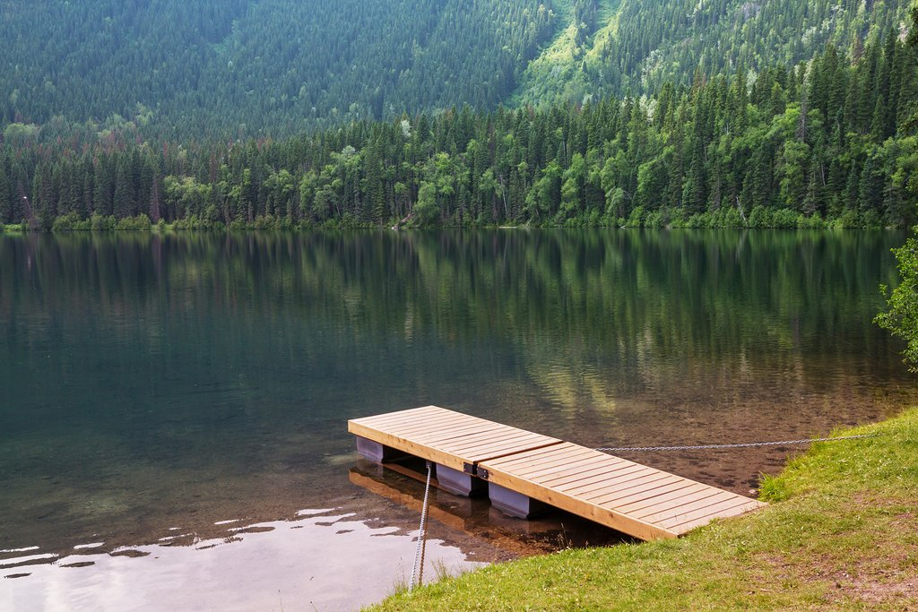 Escape to one of the many beautiful lakes in British Columbia