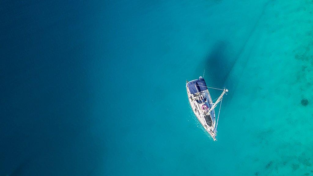 Sailing along the Dalmatian Coast