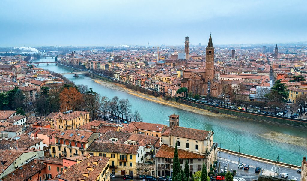 Romantic town of Verona