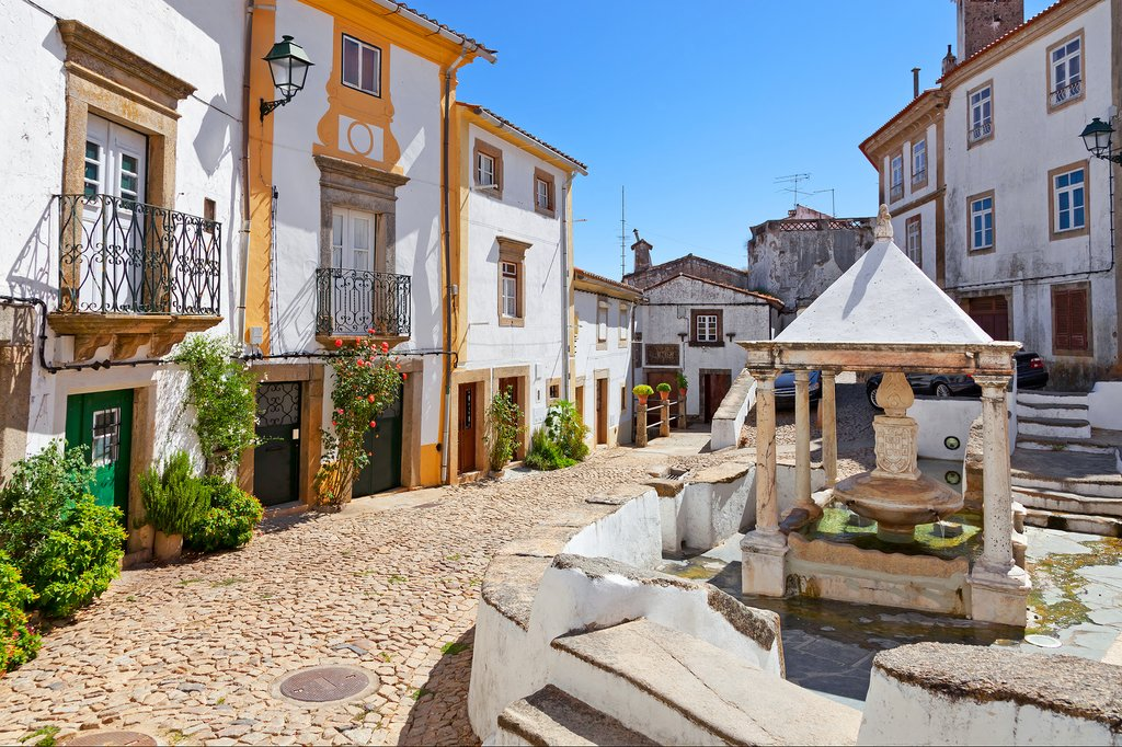 Jewish Quarter in Castelo de Vide, Portugal