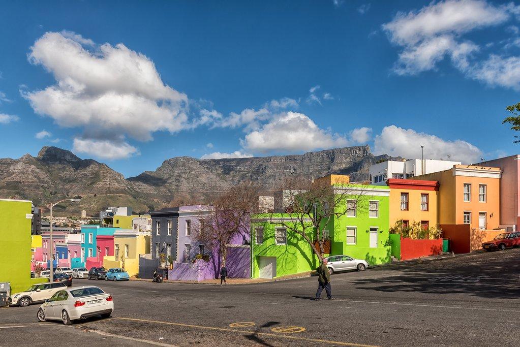 Bo Kaap neighborhood in Cape Town
