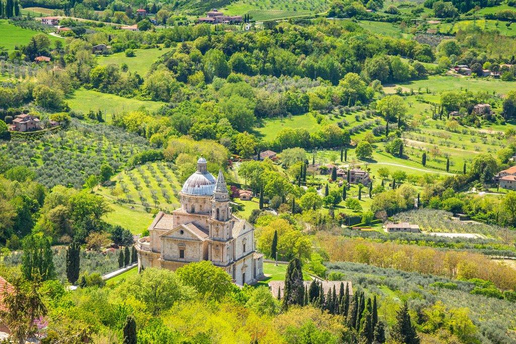 Hillside of Montepulciano