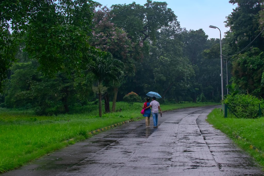 June is the beginning of the monsoon season in parts of India