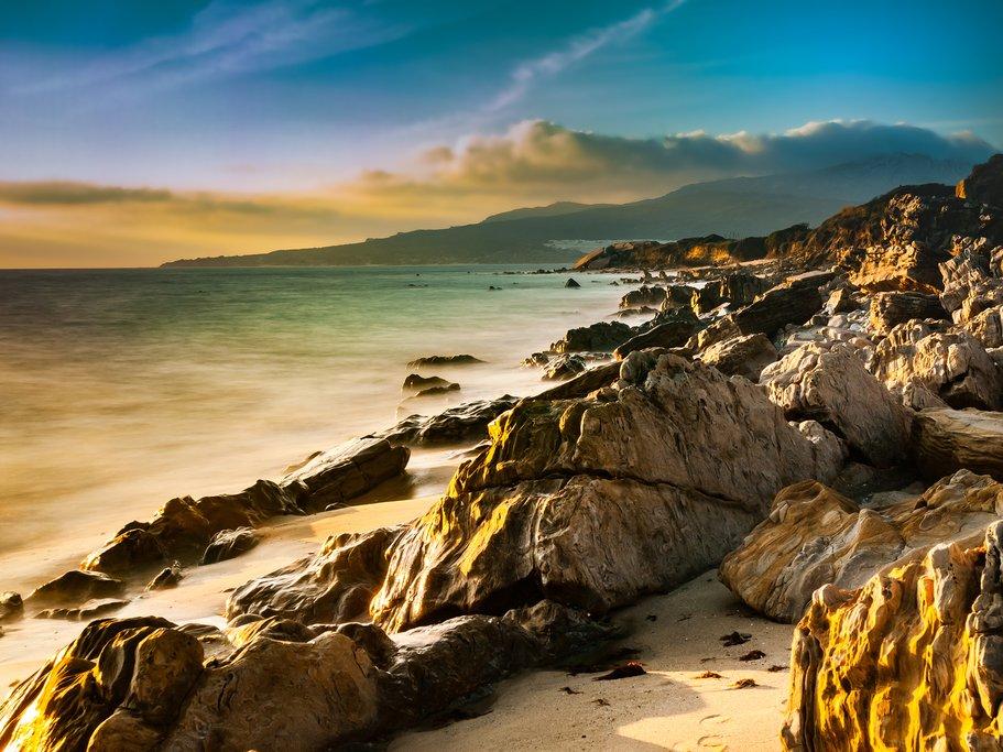 A sunset along the Costa de la Luz