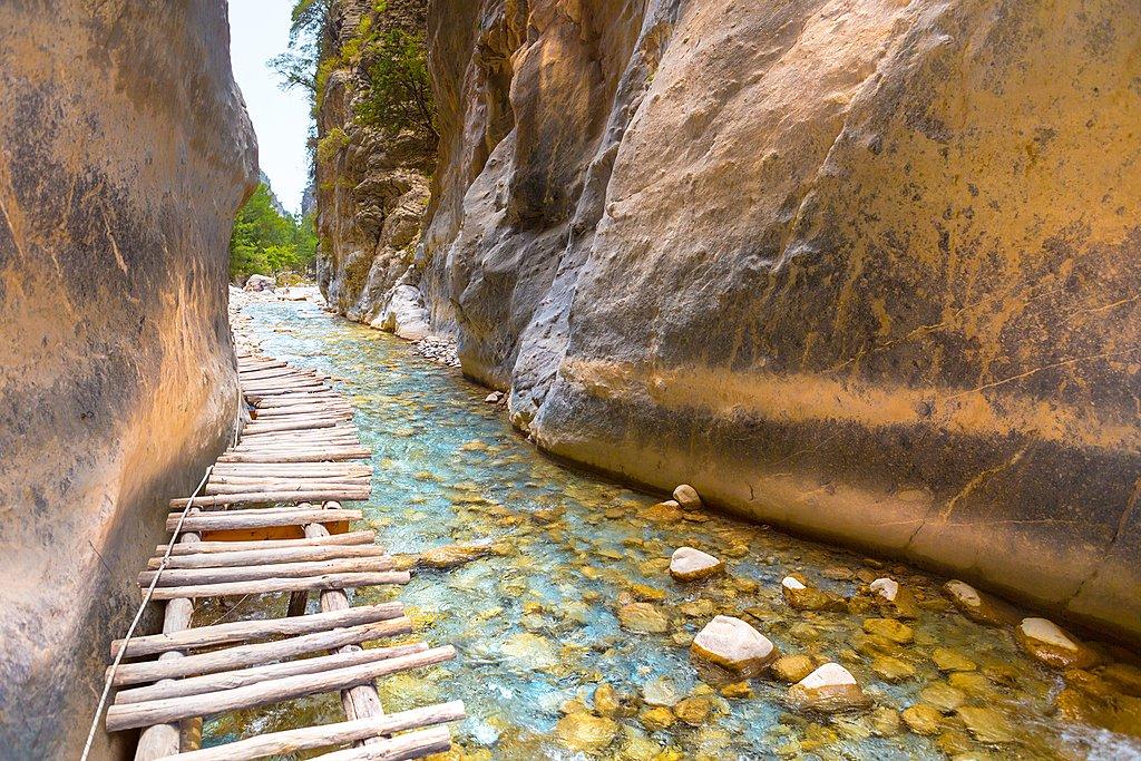 Samaria Gorge passage