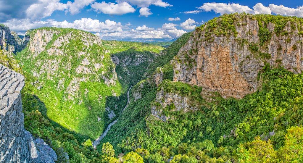 Vikos Gorge in the hills of Zagori