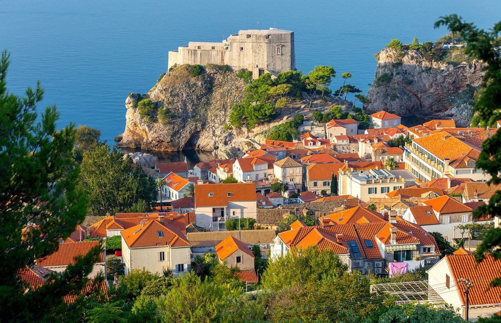 The ancient coastal city of Dubrovnik