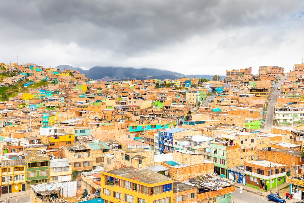 Panoramic View of Meissen District, Bogotá