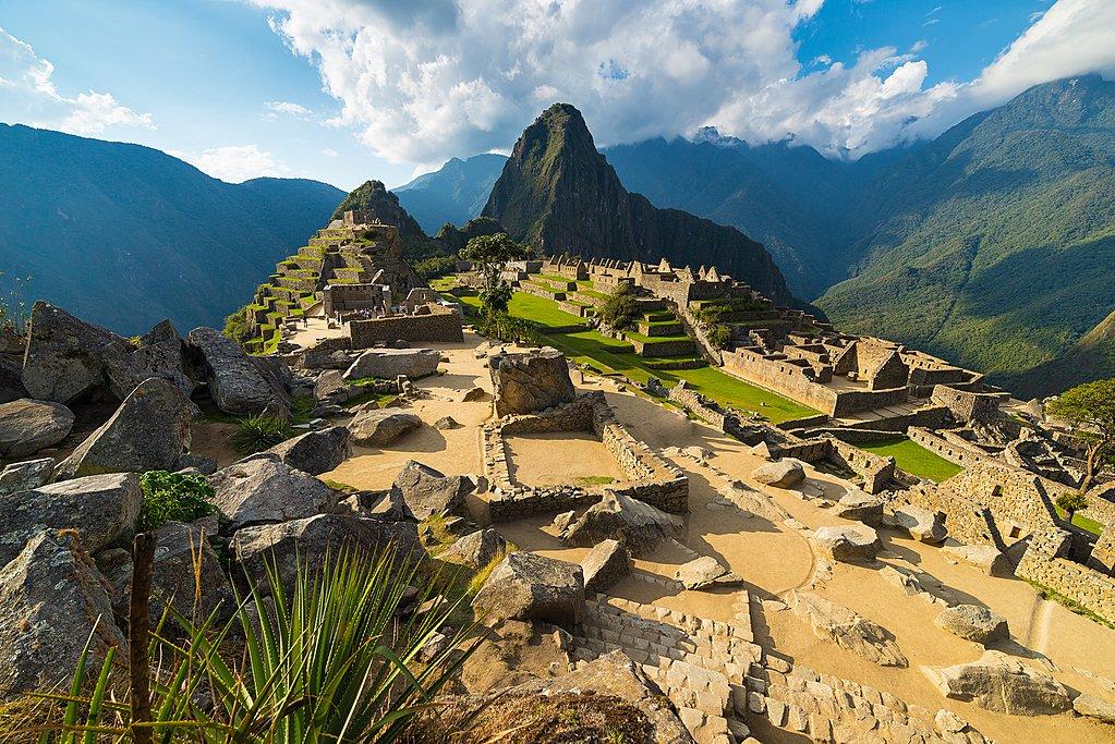 Machu Picchu sees plenty of sunshine in July