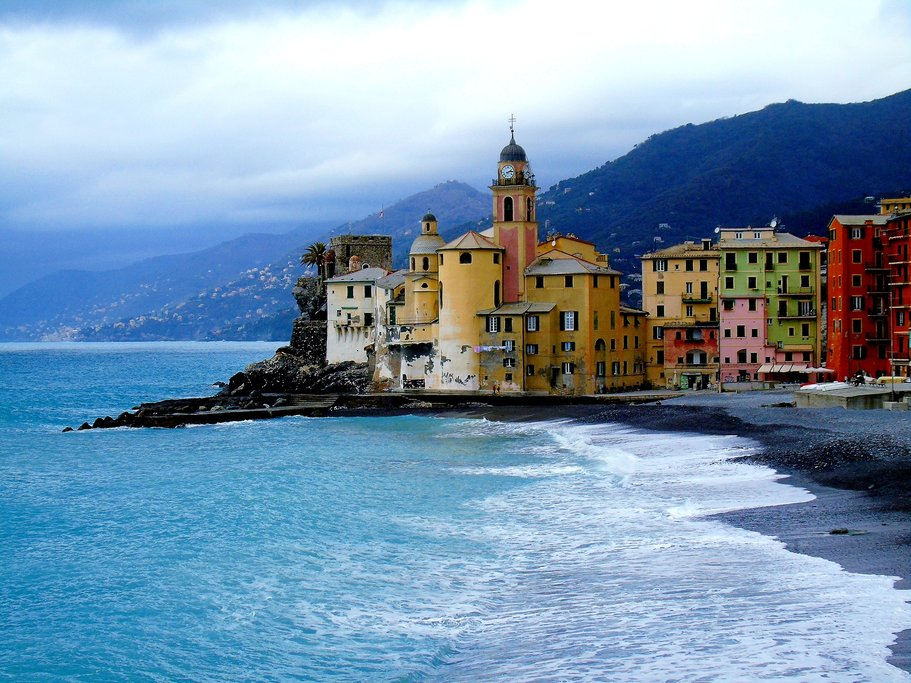 Along Portofino