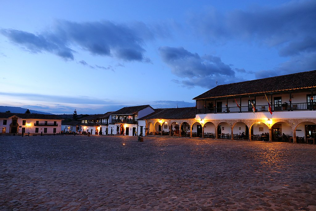 Plaza of Villa de Leyva