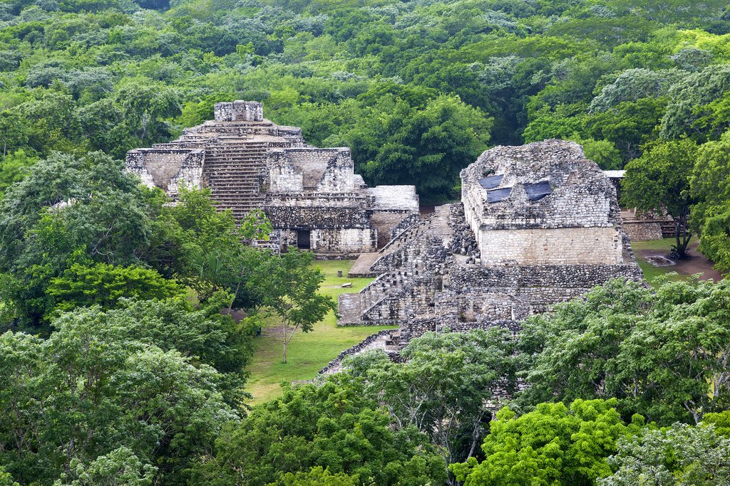 Ancient Maya ruins of Ek'Balam