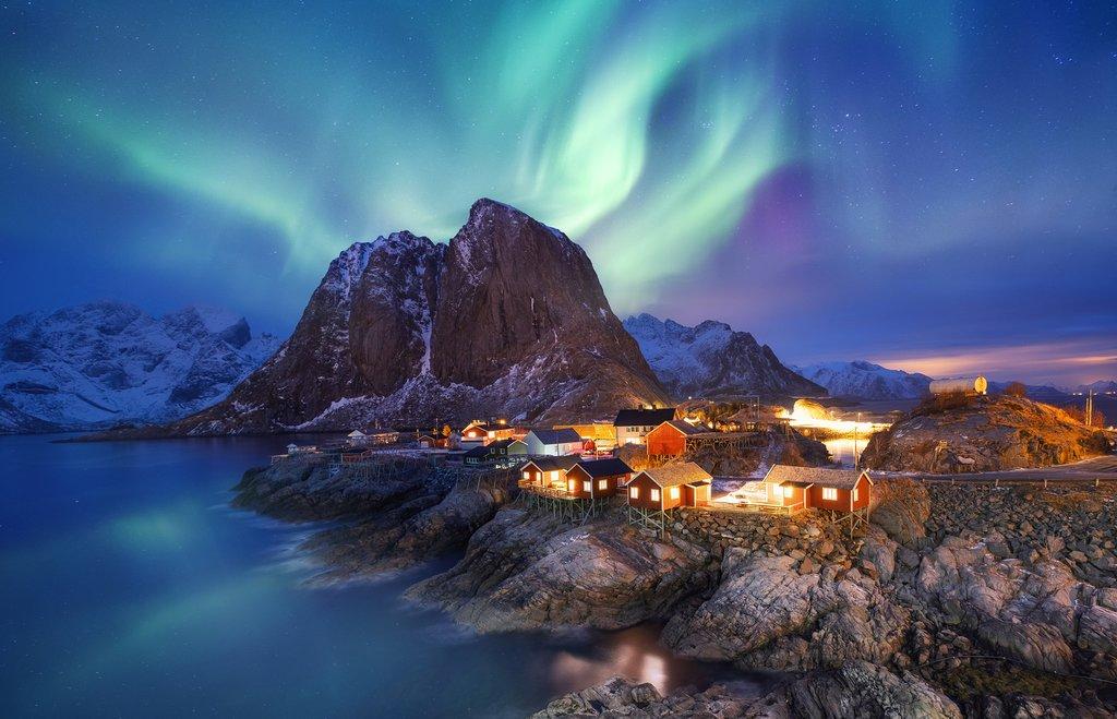 Nothern Lights in the Lofoten Islands
