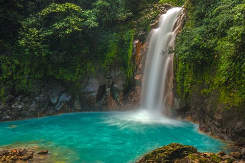 Beautiful Rio Celeste in Tenorio National Park