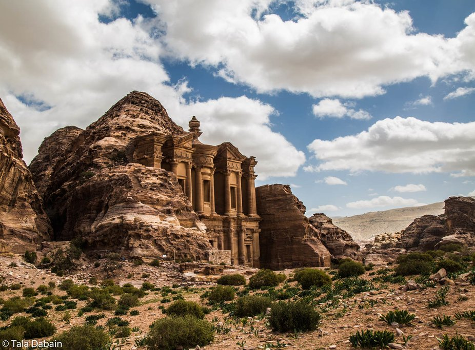 Petra, one of the Seven Modern Wonders of the World.