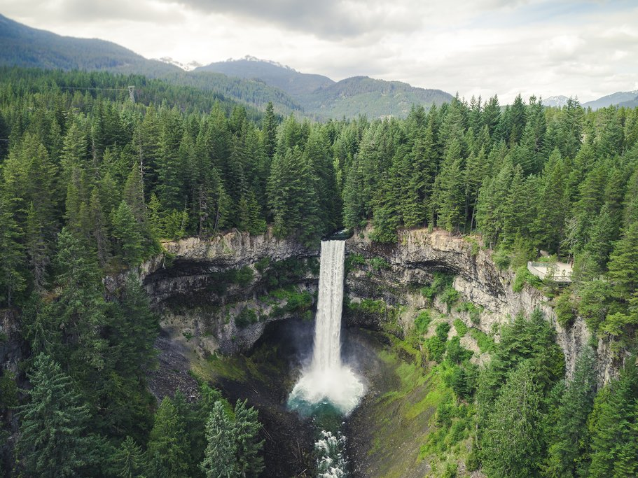 Brandywine Falls Provincial Park en route to Whistler