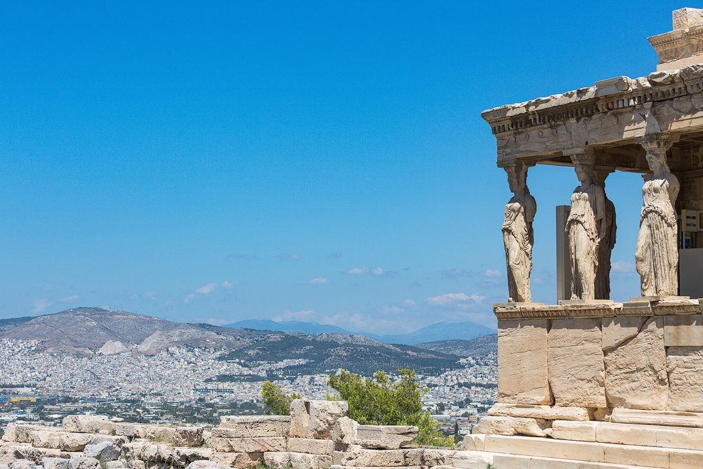 A view from the Acropolis