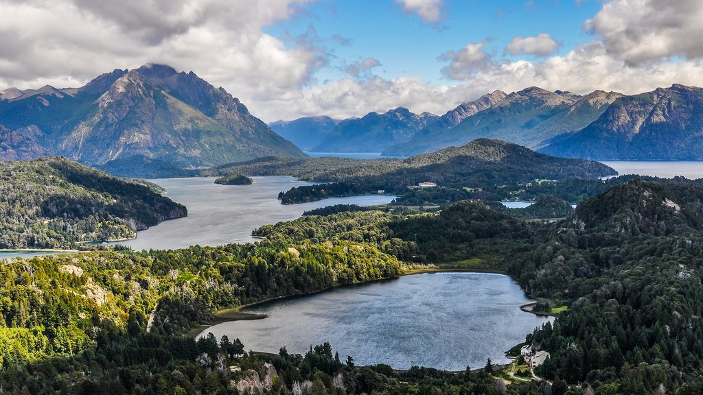 Majestic lakes in Bariloche