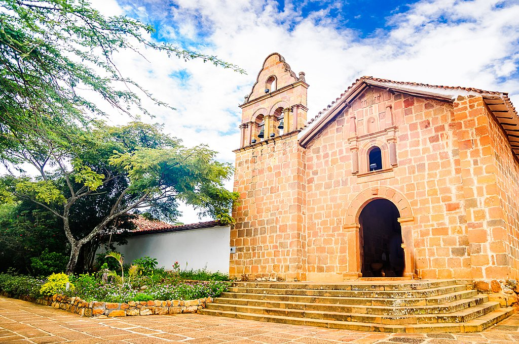 Church of Santa Barbara in Barichara