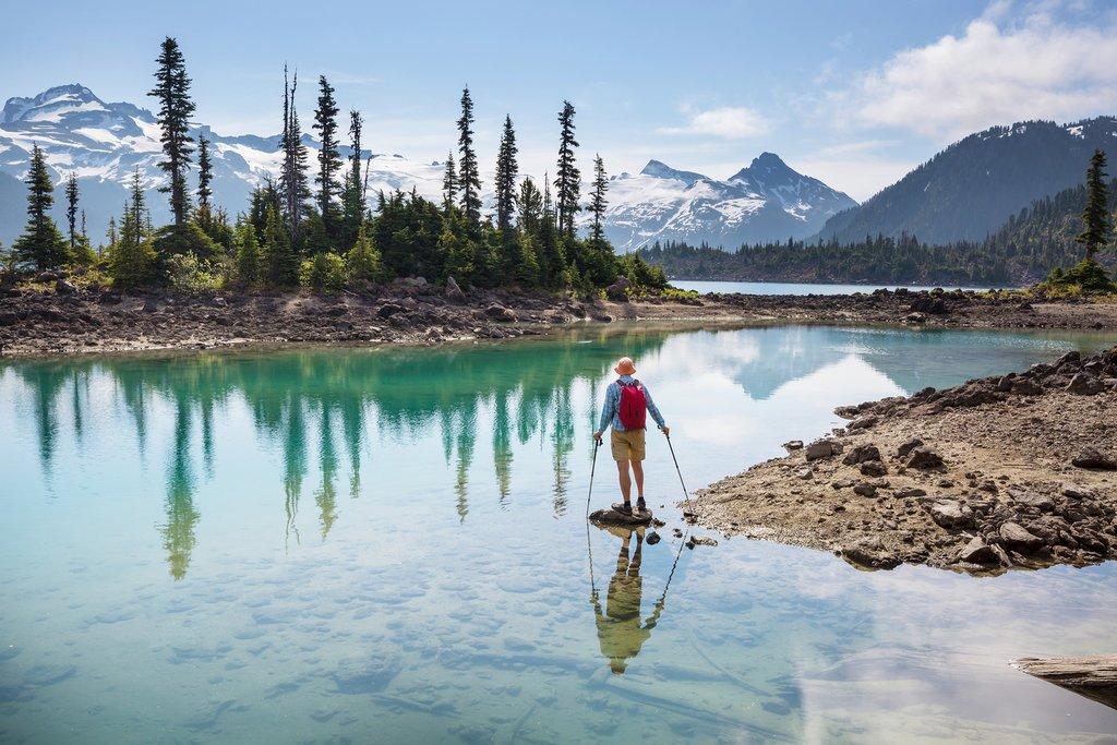 Hike to picturesque Garibaldi Lake near Whistler