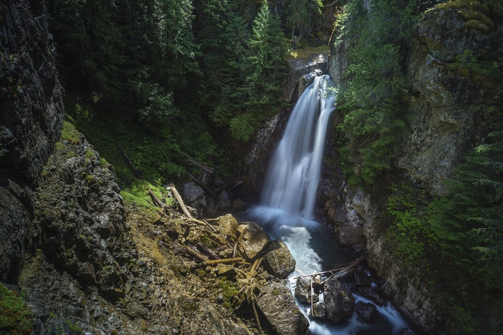 Lady Falls near Campbell River