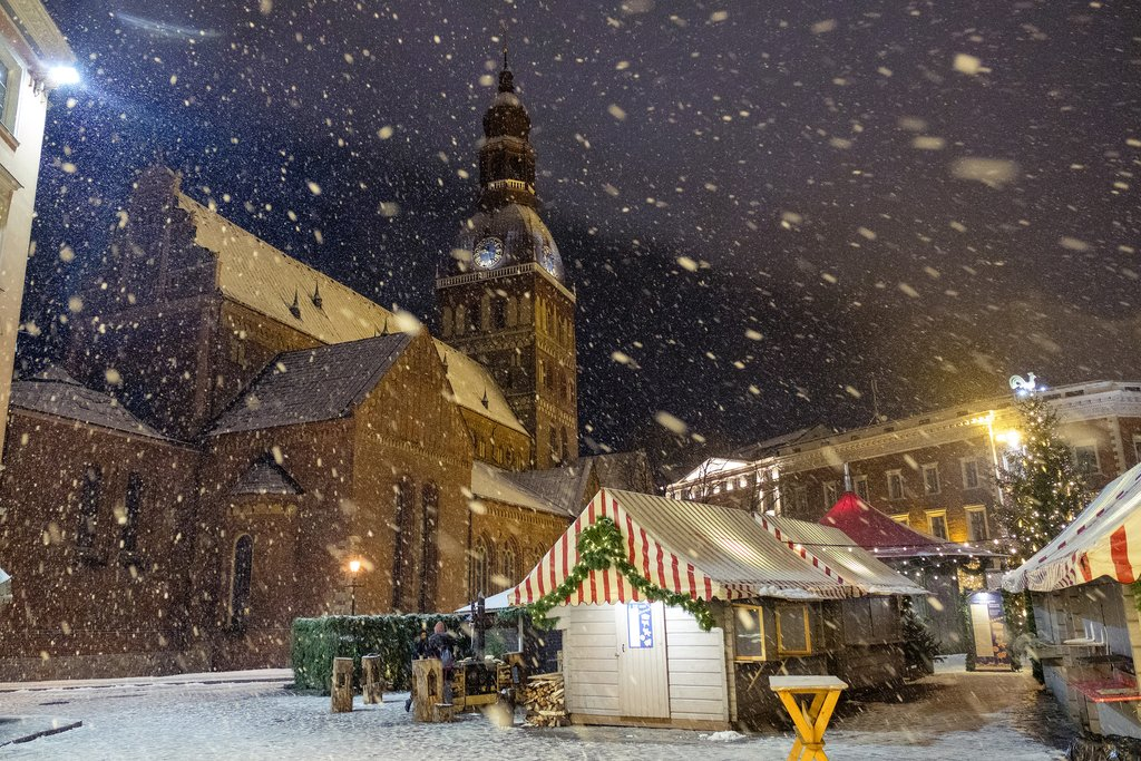 Riga's Beautiful Christmas Market