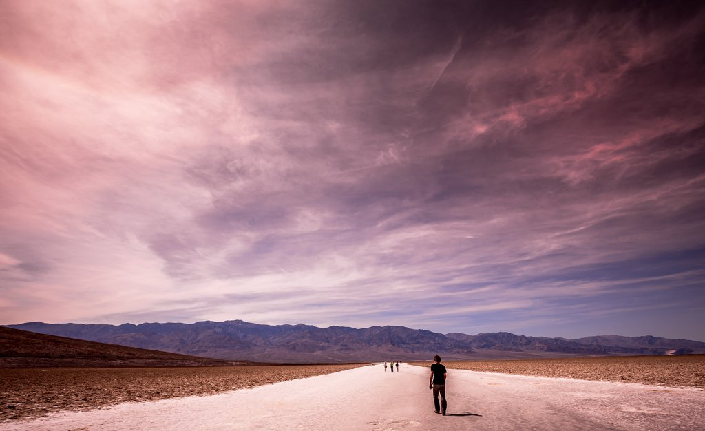 Badwater Basin in Death Valley