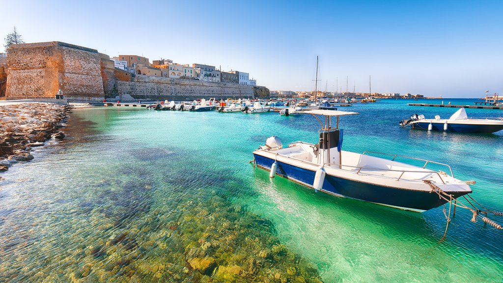 The Scenic Port of Otranto, Italy